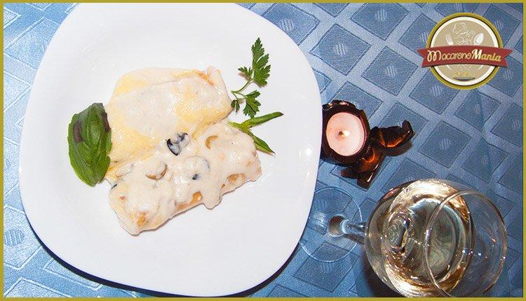 Каннеллони соусом бешамель рецепт фото