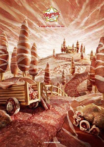 Картины из продуктов и съедобные ландшафты Карла Уорнера 13