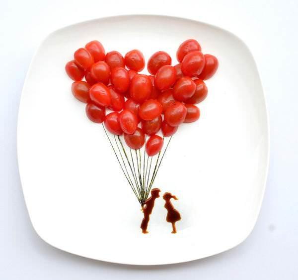 Картины на тарелках художницы Хонг Хи 2