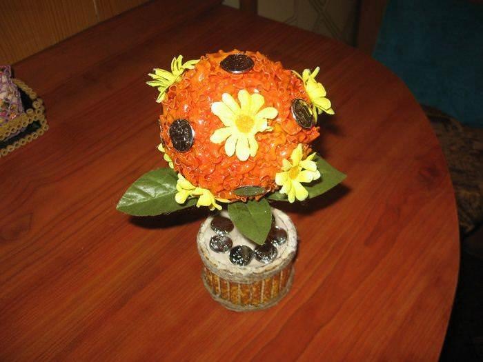 Поделки и сувениры из макарон. 1 часть. 8
