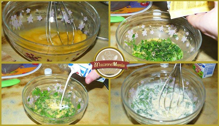 Спагетти карбонара. Пошаговое приготовление. Шаг 3