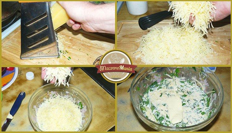 Спагетти карбонара. Пошаговое приготовление. Шаг 4