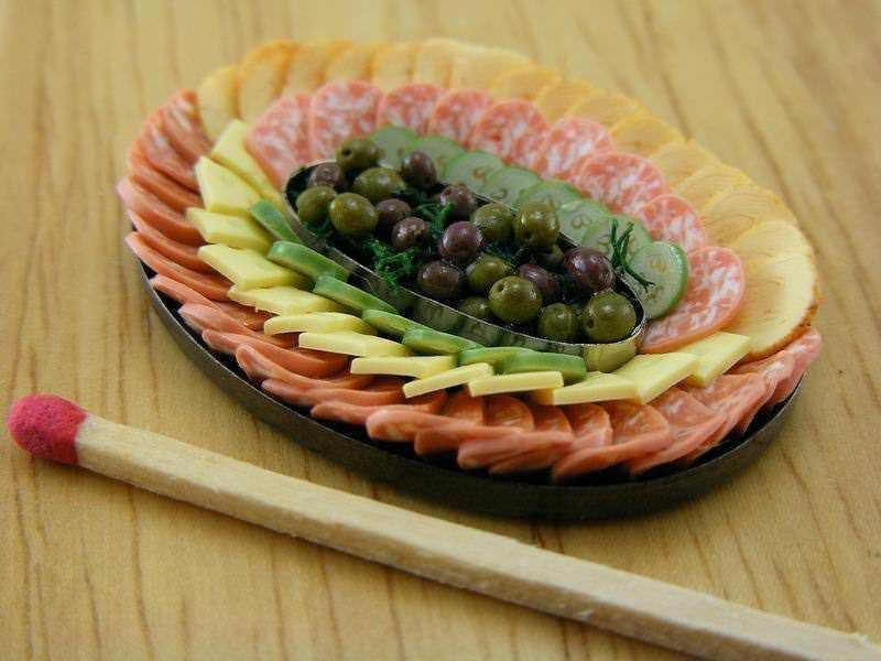 Миниатюрная еда Аарона Шей (Aaron Shay) 14
