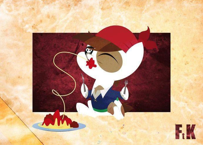 Спагетти, фрикадельки и пастафарианские пони-пираты 4