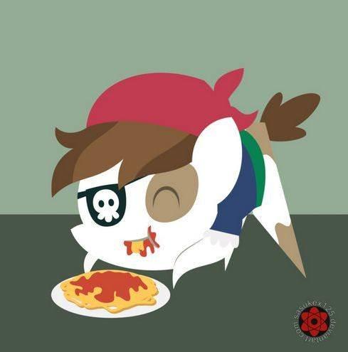 Спагетти, фрикадельки и пастафарианские пони-пираты 9