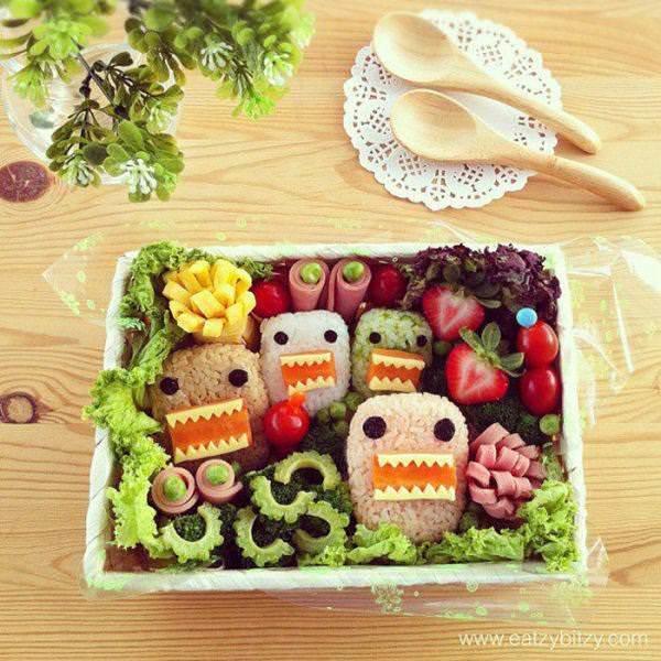 Фуд арт. Картины на тарелках для детей от Саманты Ли 10