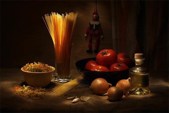 Натюрморты с макаронными изделиями. Картинки с макаронами 3