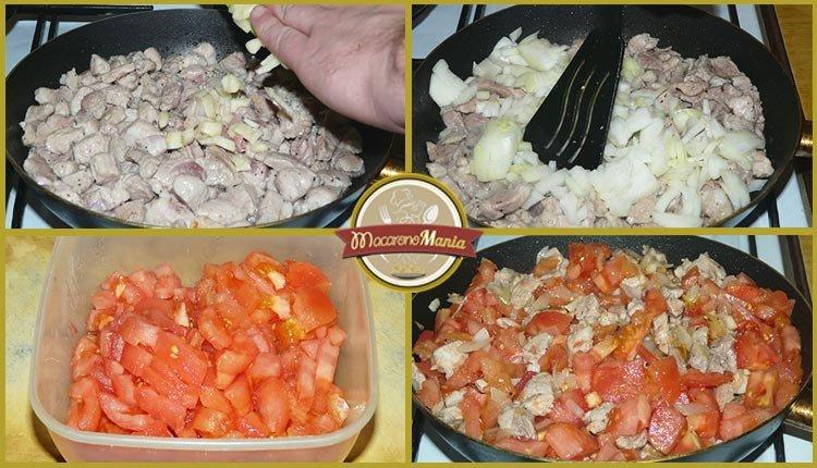 Каннеллони с мясом, грибами и соусом бешамель. Приготовление. Шаг 3