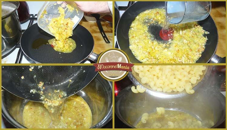 Лимонная паста с сыром. Приготовление. Шаг 5