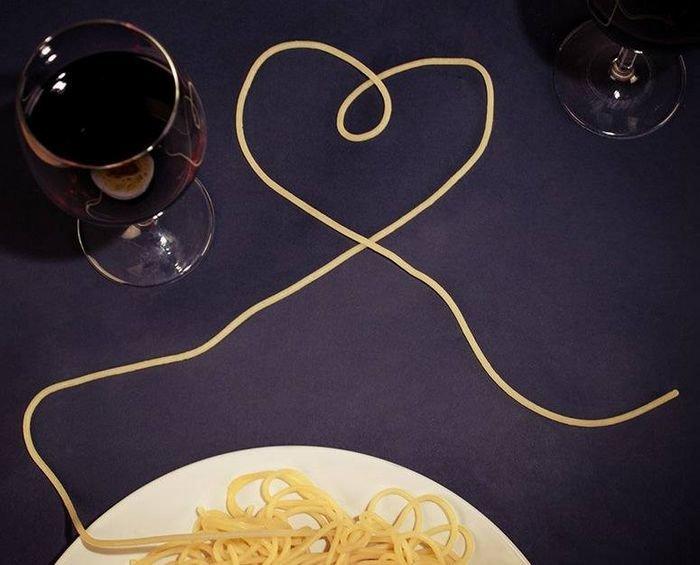 Необычные спагетти для влюбленных 4