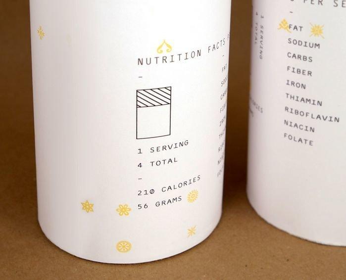 Дизайнерская упаковка для макарон Брайана Ку 3