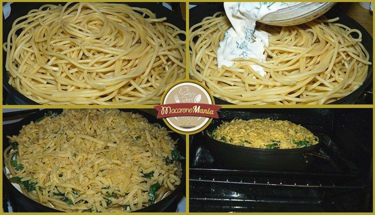 Тимбаль или пирог из макарон. Пошаговый рецепт. Шаг 9
