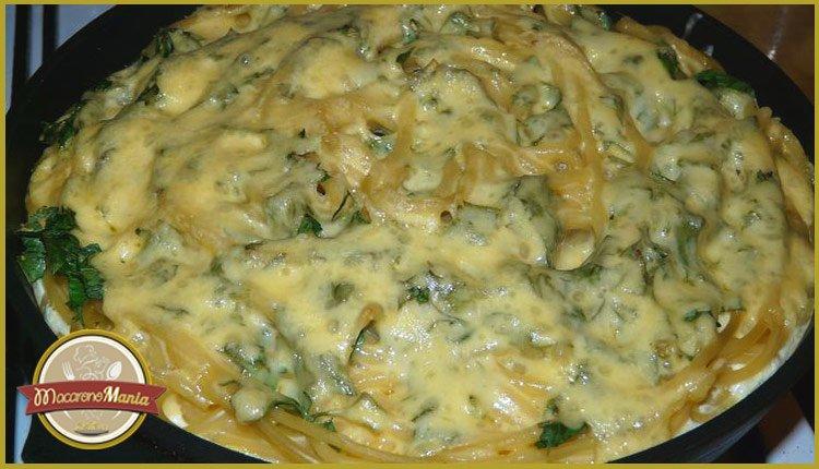 Тимбаль или пирог из макарон. Пошаговый рецепт. Шаг 10