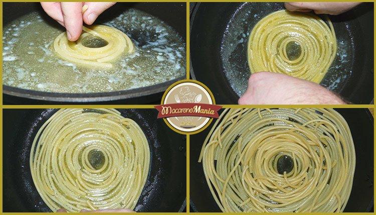 Тимбаль или пирог из макарон. Пошаговый рецепт. Шаг 7