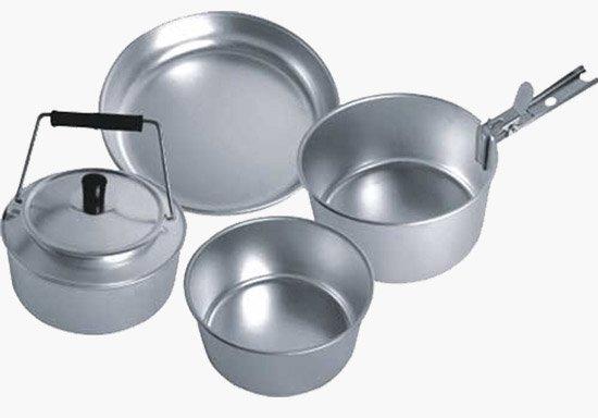 Выбор посуды для приготовления еды. Посуда из алюминия