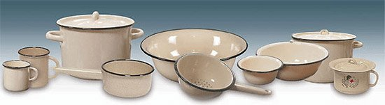 Выбор посуды для приготовления еды. Эмалированная посуда