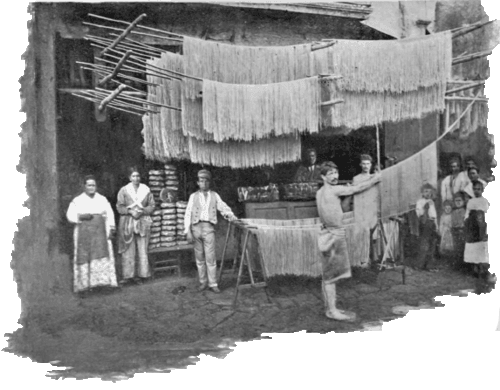 История появления макаронных изделий. Мифы и легенды.