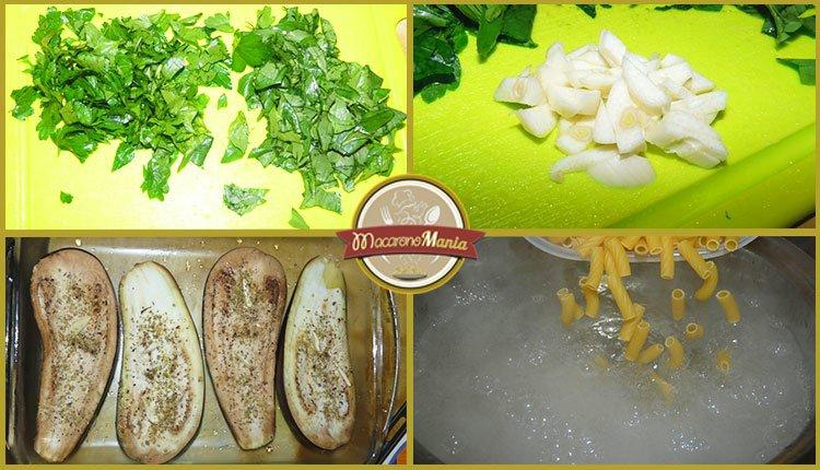Баклажаны с пастой запеченные в духовке. Пошаговый рецепт. Шаг 4
