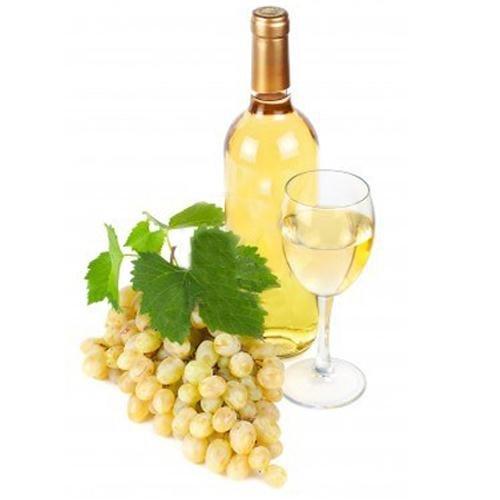 Виды и типы вина в картине-схеме. Белое вино