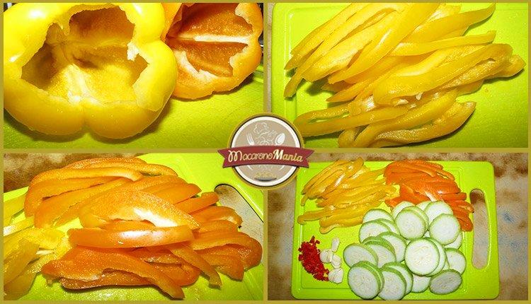 Паста с кабачком (цукини) в томатном соусе от Энрико Карузо. Пошаговый рецепт. Шаг 2
