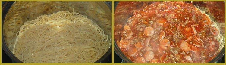 Спагетти с томатным соусом из фильма «Крестный отец». Пошаговый рецепт. Шаг 5