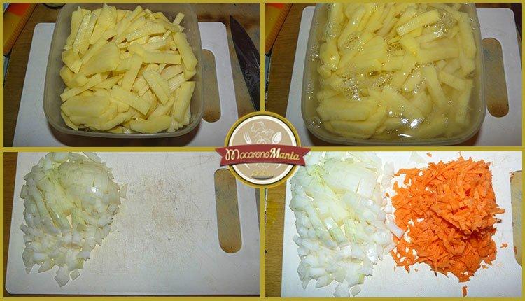 Суп с фрикадельками и лапшой. Пошаговый рецепт. Шаг 2
