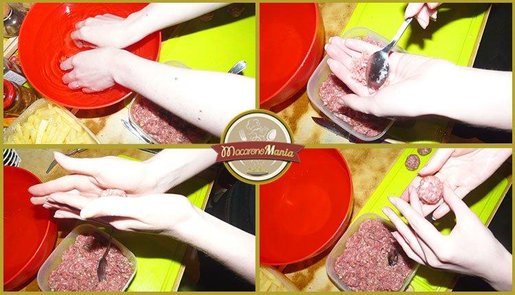 Суп с фрикадельками и лапшой. Пошаговый рецепт. Шаг 3