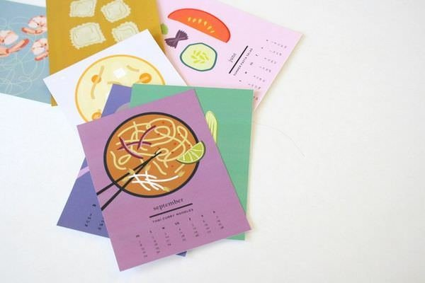 Календарь с макаронами Pasta Party 2014 5