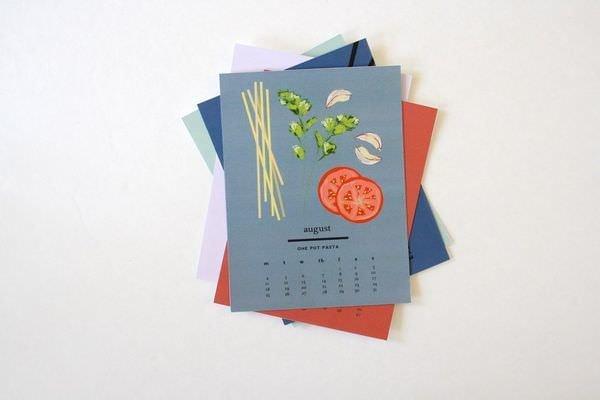 Календарь с макаронами Pasta Party 2014 3