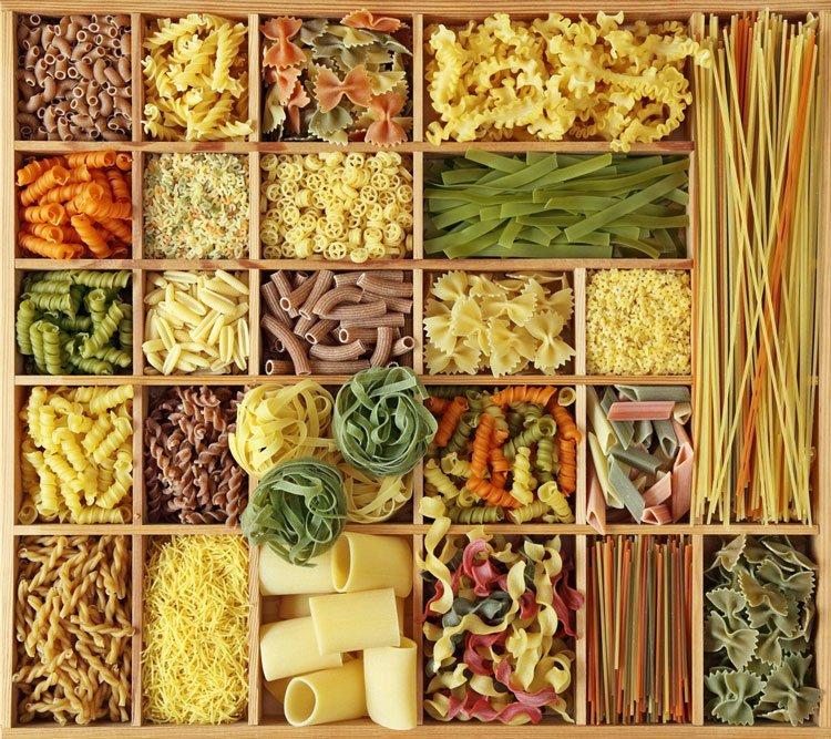 Виды макаронных изделий. Типы и формы макарон (пасты) 1