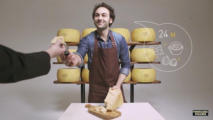 Пармезан - самый популярный сыр в Италии. С чем едят 2 годовалый сыр