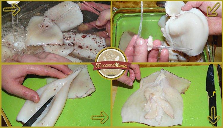 Как правильно приготовить кальмары. Шаг 2
