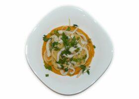 Фунчоза с курицей и овощами - вкусные рецепты пикантного азиатского угощения картинки