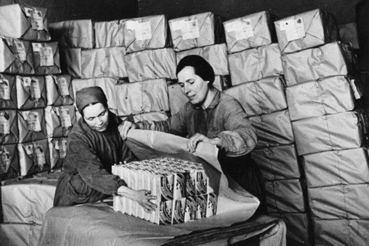 Снабжение фронта продовольствием в Великую Отечественную войну