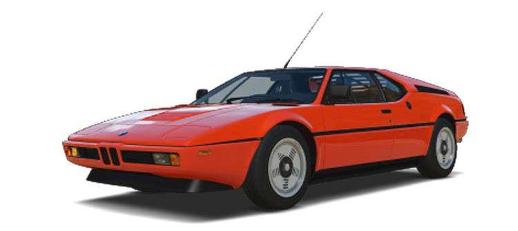 BMW M1 1977