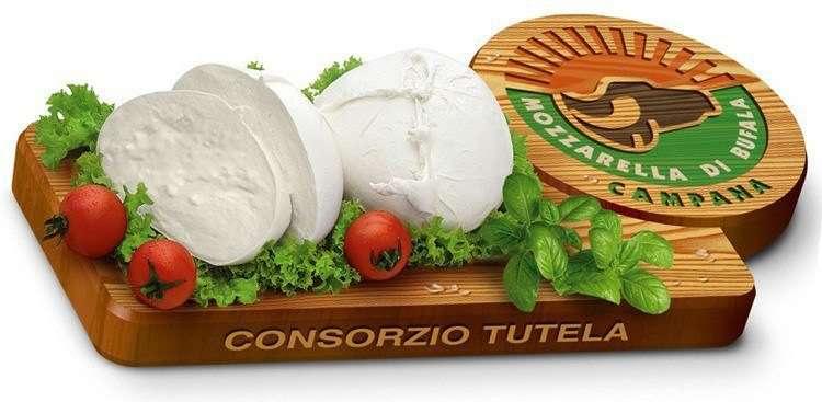 Настоящая итальянская моцарелла - это Mozzarella di Bufala Campana. Mozzarella PDO