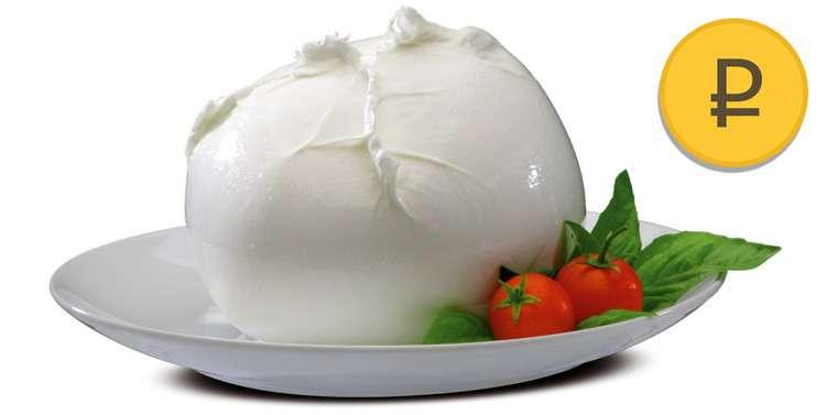 цена сыра моцарелла