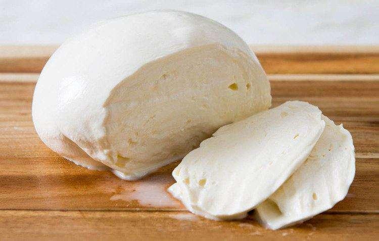Характеристики сыра моцарелла из молока буйволиц. Сыр моцарелла в разрезе