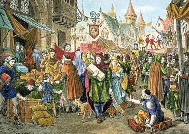 Продовольственный рынок в 18-19 веке. Для примера