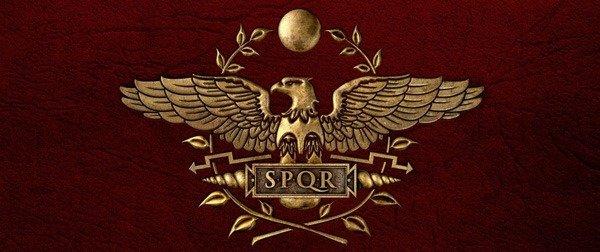 Символ Древнего Рима. SPQR. Шефрон
