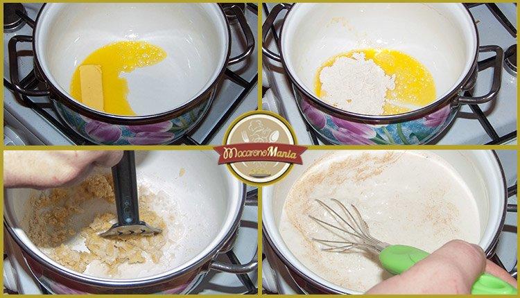 Каннеллони под соусом бешамель со сладким перцем. Приготовление. Шаг 7