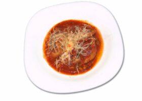 Конкильони с фаршем в томатном соусе. Пошаговый рецепт с фото