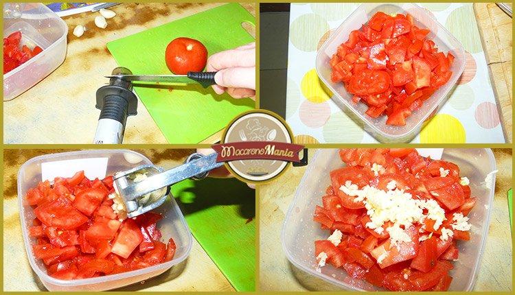 Спагетти с креветками под соусом маринара. Приготовление. Шаг 2