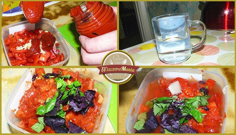Спагетти с креветками под соусом маринара. Приготовление. Шаг 2-1