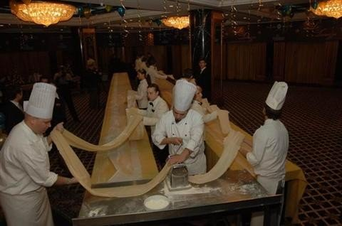 Самая длинная паста 4