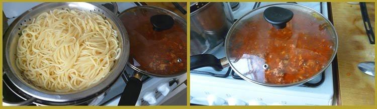 Спагетти болоньезе. Пошаговое приготовление. Шаг 4