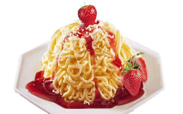 Spaghetti Ice Cream. Айс спагетти - мороженное спагетти 2