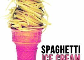 Spaghetti Ice Cream. Айс спагетти - мороженное спагетти