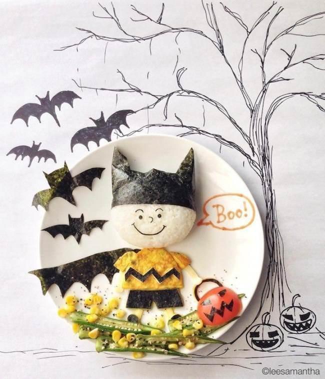 Фуд арт. Картины на тарелках для детей от Саманты Ли 3
