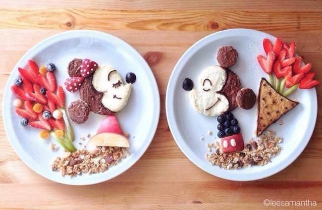 Фуд арт. Картины на тарелках для детей от Саманты Ли 4